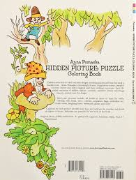 hidden picture puzzle coloring book dover children u0027s activity