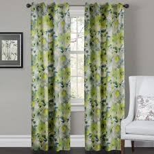 Green And Gray Curtains Ideas Decoration Ideas Fancy Home Interior Decoration With Green Floral