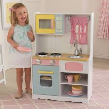 kidkraft pastel country play kitchen 53354 hayneedle