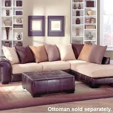 Leather And Suede Sectional Sofa Khaki Sectional Sofa Knowbox Co
