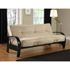 Mission Style Futon Couch Simmons Seattle Chocolate Futon Si Ex Sea Vo 2c The Home Depot