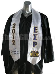 aka graduation stoles stool kidstion stole white andersons customizationstole meaning