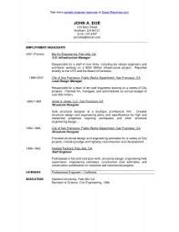 Copy Of A Resume For A Job by Examples Of Resumes 81 Amusing Job Resume Example Professional