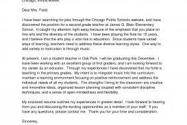 cover letter for teacher position 7 example education
