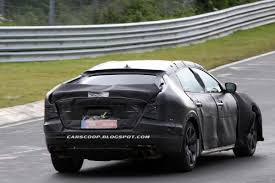new maserati back spied new maserati quattroporte shots reveal that it won u0027t be a