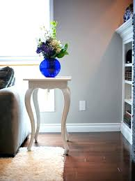 side table living room decor decorate side tables living room blue and white with grey sofa