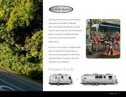 2017 airstream travel trailers brochure rv literature