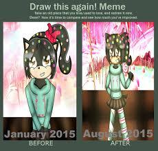 Vanellope Von Schweetz Meme - draw it again meme vanellope von schweetz in sonic by