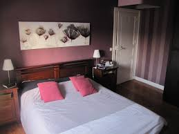 chambre prune et blanc chambre couleur prune
