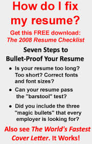Fix My Resume Updating Your Resume Resume Templates