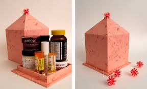 How To Make Decorative Gift Boxes At Home Home Dzine Craft Ideas Make A Cardboard Pill Box