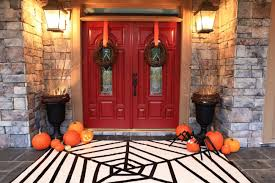 Bowerpowerblog 20 Fabulously Spooky Halloween Front Porches A Blissful Nest