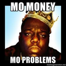 Money Problems Meme - who gets the money honey walkathon maven