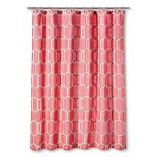 Salmon Colored Shower Curtain Shower Curtains Coral Colors U2013 Curtain Ideas Home Blog