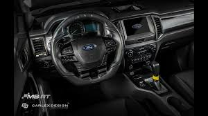 ford ranger 2017 interior custom ford ranger can go off road in style with posh interior