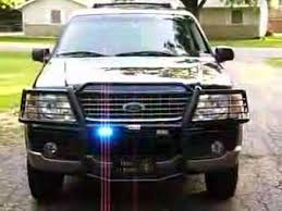 volunteer firefighter lights on my ford explorer