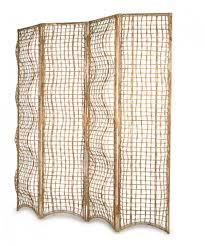 Wicker Room Divider Rattan Folding Screen Wicker Folding Screen Leisure Rattan Screen