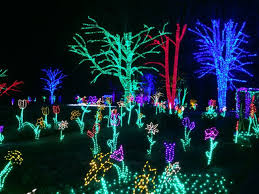 holiday lights in the northern virginia and washington dc area
