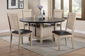 ramona 72005 dining table in beige by acme w options