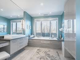 bathroom creative black and white tile bathroom paint color home