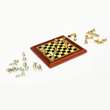 aliexpress com buy cute 1 12 dollhouse miniature chess