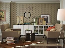 endearing natural living room design featuring single sofa with
