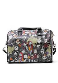nightmare before collage faux leather cross purse