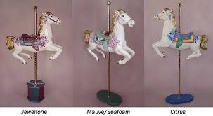 Carousel Horse Centerpiece by Plastic Carousel Horse All The Pretty Horses