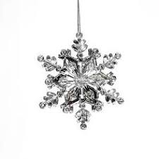 sf2 acrylic snowflake button pack of 25 large snowflakes