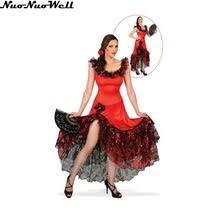 Halloween Costumes Spanish Dancer Halloween Costume Women Gypsies Reviews Shopping