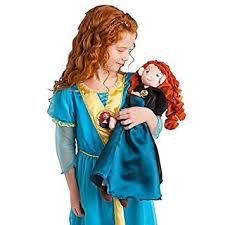 amazon pixar disney store brave princess merida soft plush