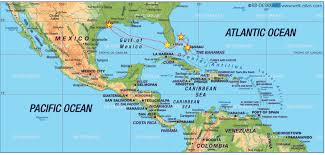 Caribbean Maps by Cruise Map Of Caribbean Awesome Punchaos Com