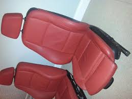 335i Red Interior For Sale Sell Pair Of Front Leather Bmw Coral Sport Red Seats E82 E92 135i