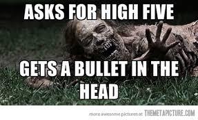 Funny Zombie Memes - misunderstood zombie the meta picture