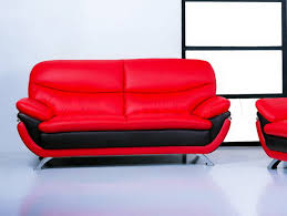 Red Living Room Sets by 1 797 00 Jonus Living Room Set Italian Black And Red Leather