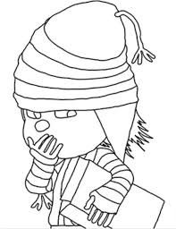 despicable 2 edith coloring despicable coloring pages