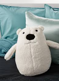 polar bear cushion hiccups shop kids home decor accessories