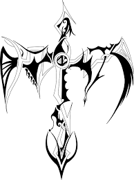 awesome tribal cross design