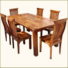 rustic kitchen table and chairs mediterranean eco transitional dining set dine in style