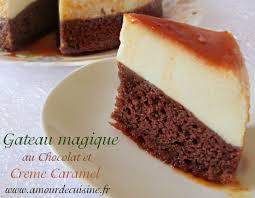 gateau cuisine gâteau magique au chocolat amour de cuisine