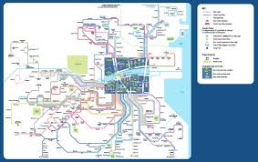 Dublin Ireland Map Public Transport In Ireland Tips And Hints The Irish Place