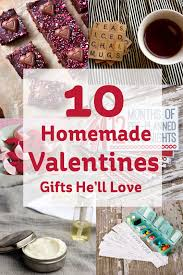 Homemade Valentines Gifts by 10 Homemade Valentines Gifts He U0027ll Love Hobbycraft Blog