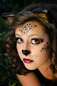 wild cat halloween makeup youtube