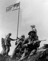 Flag Carrier Of Japan Raising The Flag On Iwo Jima Wikipedia