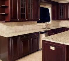 Kitchen Backsplash Cherry Cabinets by 100 Best Back Splash Ideas In Stone Or Tile Images On Pinterest