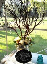 Manzanita Tree Centerpieces Farm U0026 Filigree