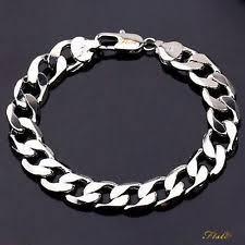 sterling silver bracelet ebay images Heavy silver bracelet ebay jpg