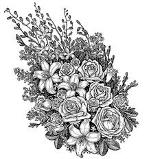 printable coloring pages for adults flowers amazingly exquisite free printable coloring pages of flowers