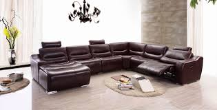 Pictures Of Living Rooms With Leather Chairs 2144 Sectional Left W Recliner Leather Sectionals Living Room