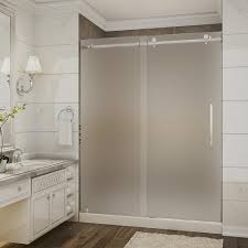 ove decors sierra 60 in x 81 5 in frameless sliding shower door